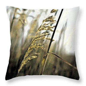 Artistic Grass - Pla377 Throw Pillow