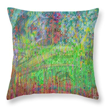 As The Wind Blows Throw Pillow