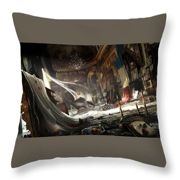 Assassin's Creed Unity Throw Pillow