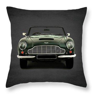 Aston Martin Db6 Throw Pillow