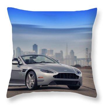 #astonmartin #print Throw Pillow