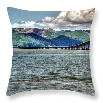 Astoria Bridge Throw Pillow