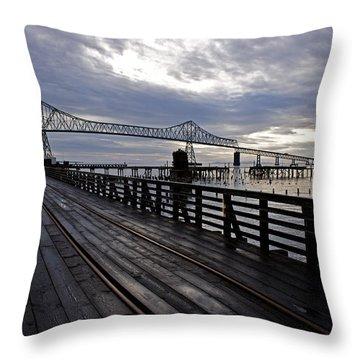 Astoria-megler Bridge 4 Throw Pillow