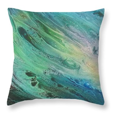 Exuberant Throw Pillow