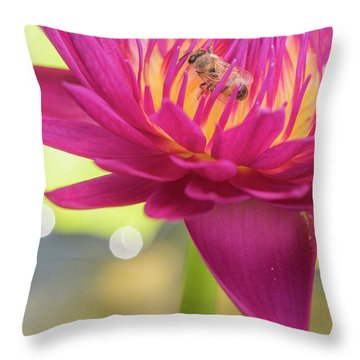 Attraction. Throw Pillow