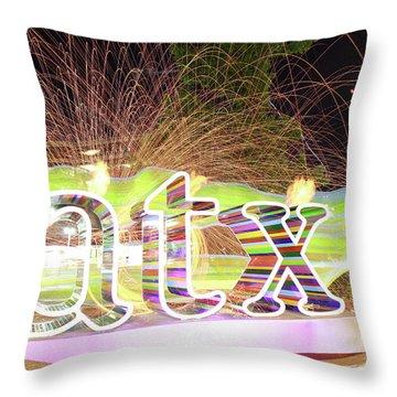atx Throw Pillow