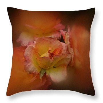 Throw Pillow featuring the photograph Aug 2016 Rose by Richard Cummings