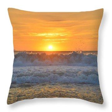 August Sunrise   Throw Pillow