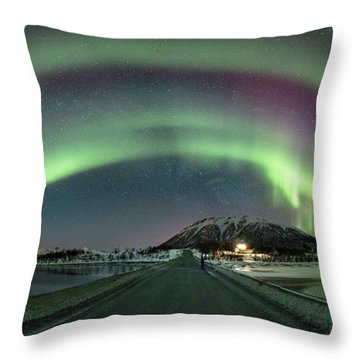 Aurora Panoramic Throw Pillow