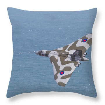Avro Vulcan  Throw Pillow