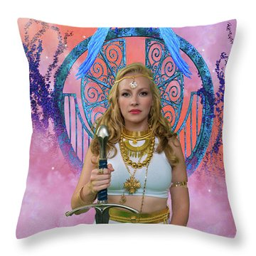 Azna Throw Pillow