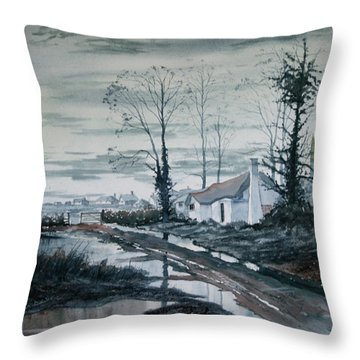 Back To Life Throw Pillow