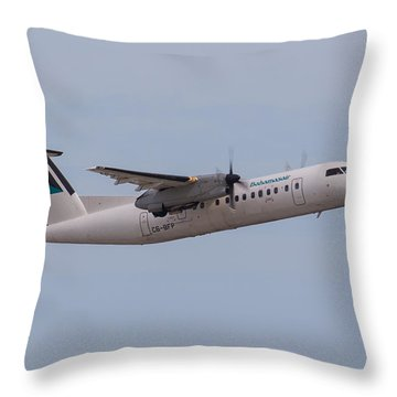 Bahamas Air Throw Pillow