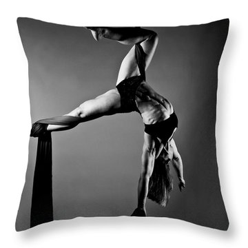 Balance Of Power 2012 Series Hooked Throw Pillow