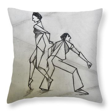 Ballet Practice Throw Pillow