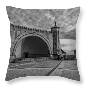 Band Shell Throw Pillow