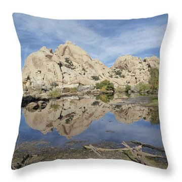 Barker Dam Throw Pillow