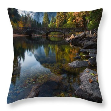 Beautiful Yosemite National Park Throw Pillow