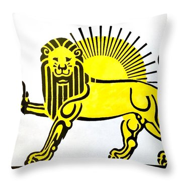 Beersia Throw Pillow