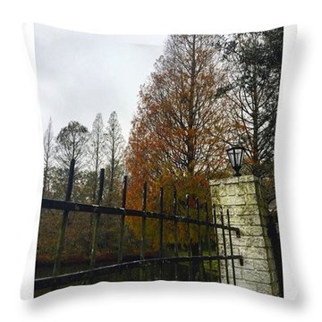 Behind The Clouds The Sun Is Shining Throw Pillow