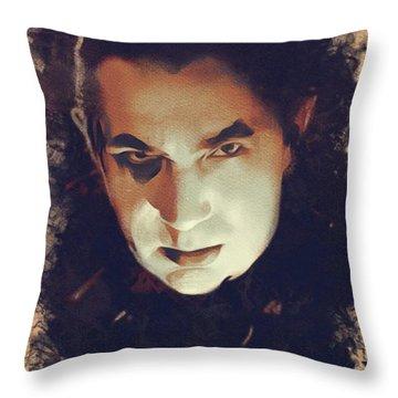 Bela Lugosi, Hollywood Legend Throw Pillow