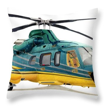 Helicopter Throw Pillows
