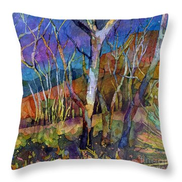 Beyond The Woods Throw Pillow