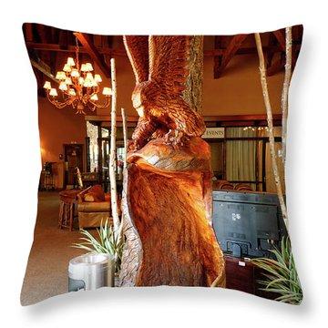Big Bird Throw Pillow