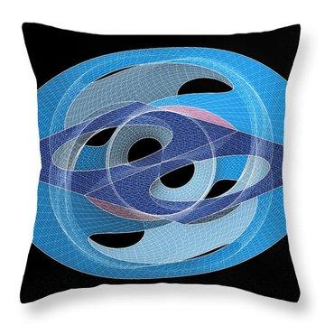 Bionic Eye Throw Pillow