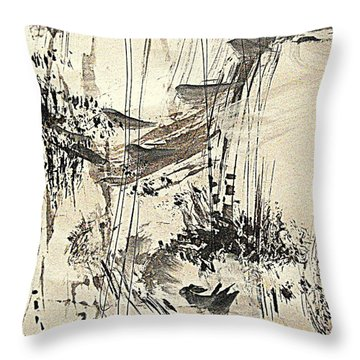 Bird Song  Throw Pillow