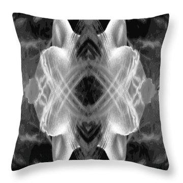 Blast Throw Pillow by Alan Pickersgill