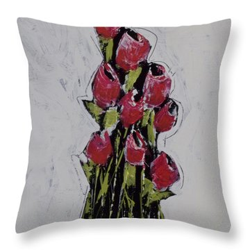 Bloom No. 1  Throw Pillow
