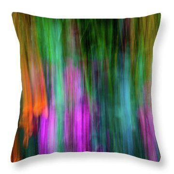 Blurred #3 Throw Pillow
