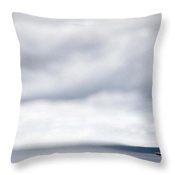 Boat #9224 Throw Pillow