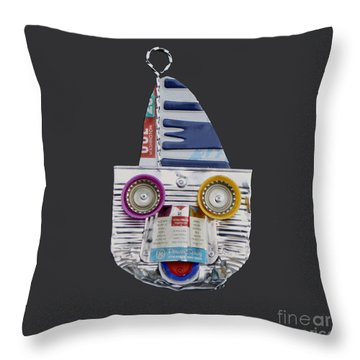 Boater Throw Pillow