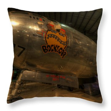 Bock's Car B-29 Throw Pillow