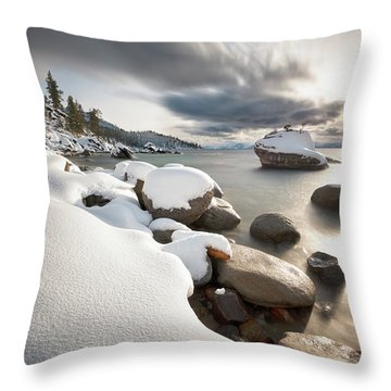 Bonsai Dream Throw Pillow by Scott Warner