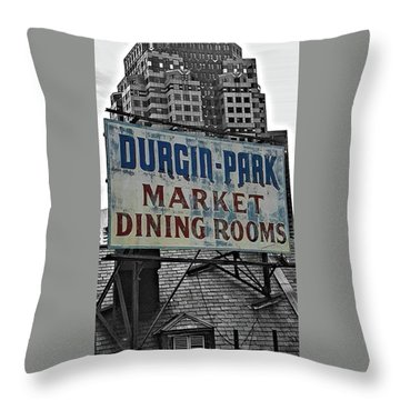 Throw Pillow featuring the photograph Boston Icon by Bruce Carpenter