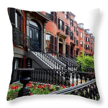 Boston's South End Throw Pillow