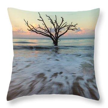 Botany Bay Morning Throw Pillow