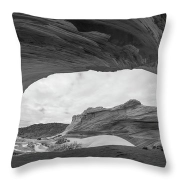 Throw Pillow featuring the photograph Boundless by Dustin LeFevre