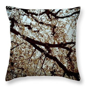 Branch One Throw Pillow