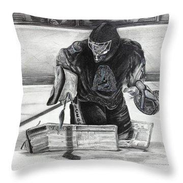 #1 Brandon Pearce Throw Pillow