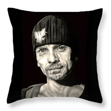 Breaking Bad Skinny Pete Throw Pillow by Fred Larucci