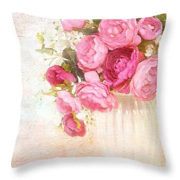 Breath Of Spring Throw Pillow