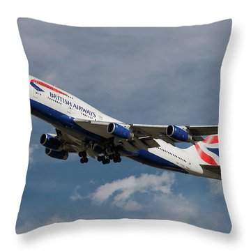 Airliner Throw Pillows