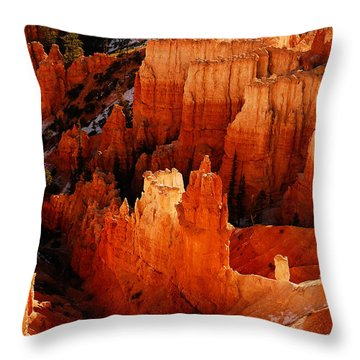 Bryce Canyon Throw Pillow by Harry Spitz