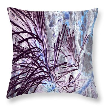 Throw Pillow featuring the photograph Burst by Jamie Lynn