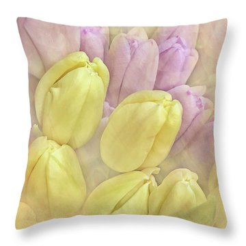 Burst Of Spring Throw Pillow