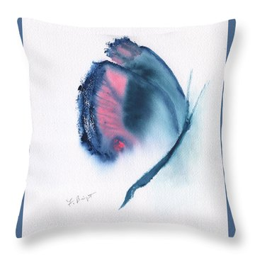 Butterfly Abstract 3 Throw Pillow